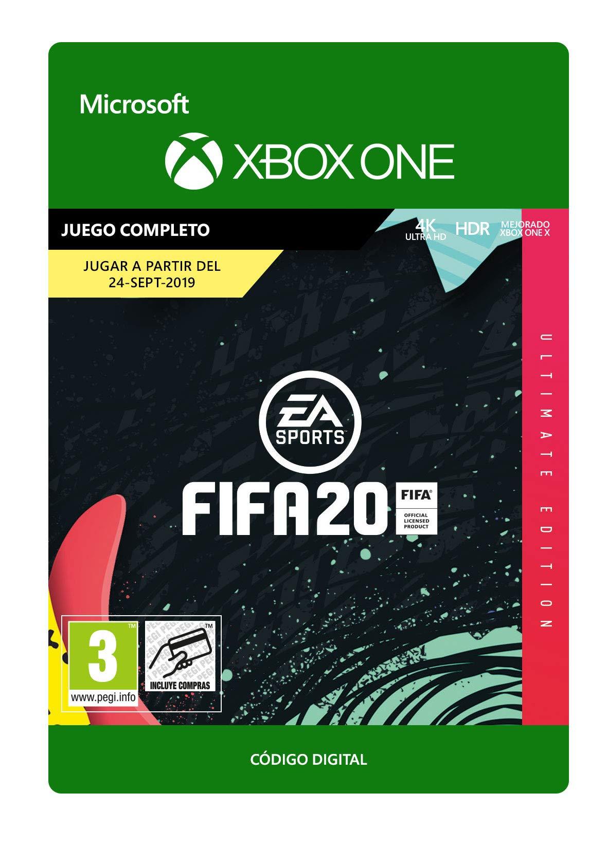 FIFA 20: Ultimate Edition – Xbox One – Código de descarga