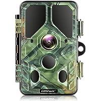 Campark Caméra de Chasse 20MP 1296P Caméra de Faune avec 940nm IR LED Vision Nocturne avec WiFi Bluetooth IP66 Étanche…