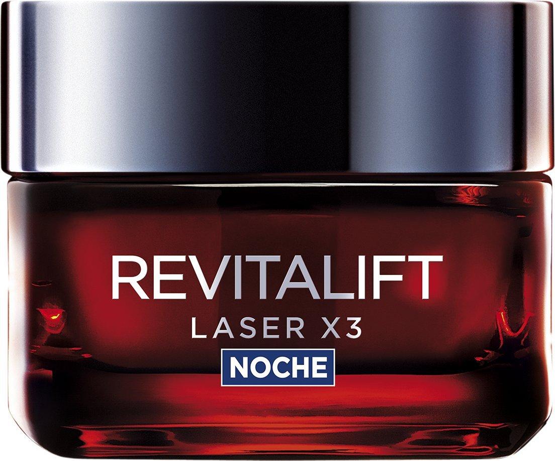 L'Oreal Paris Revitalift Láser x3 Crema Noche Intensiva Anti-Edad – 50 ml