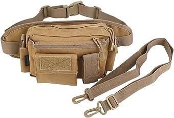 Oleander Taktische Taille Pack Military Fanny Packs Hüftgürtel Tasche Beutel Werkzeug Organizer für Outdoor Wandern Klettern Angeln Jagd Bum Bag