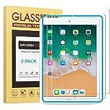 [2-Pack] SPARIN Protector Pantalla iPad Pro 9.7 Pulgadas, iPad 9.7 Pulgadas 2017/2018, iPad Air, iPad Air 2, Cristal Templado