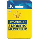Sony PlayStation Plus 3 Months Membership Card (Indian PSN Account)