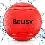 BELISY Balle pour Chien - Jouets pour Grands et Petits Chiens en Caoutchouc Naturel