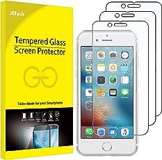 JETech Schutzfolie für iPhone 6s und iPhone 6, Gehärtetem Glas Displayschutzfolie, 3 Stück