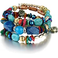 Shining Diva Fashion Jewelry Blue Stone Stylish Bracelet for Women & Girls(rrsd9236b)