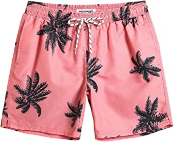 MaaMgic Men's Swimming Trunks Quick Dry Fit Performance Surfing Short with Pockets