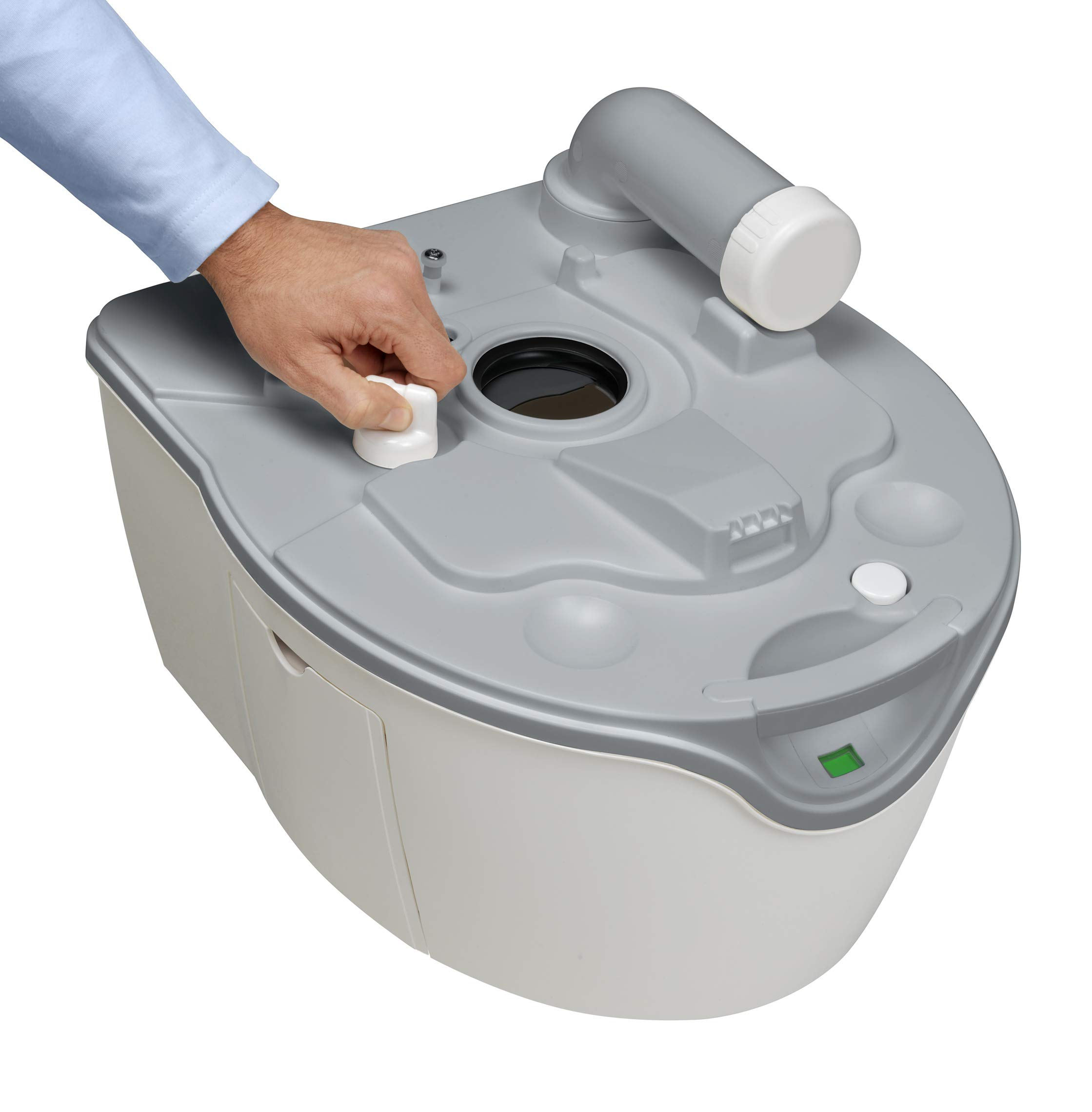 Thetford 92305 Porta Potti 565P Excellence Portable Toilet (Manual), 448 x 388 x 450 mm 4