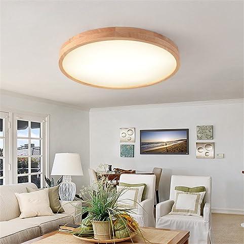 Kamela Led Feste Holz-Leuchte Runder Einfacher Mode Balkon