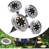 Solarleuchten für außen, Solarlampen für Außen Garten Solarlampen IP65 Wasserdicht Solar Gartenleuchten, Gartenbeleuchtung fü