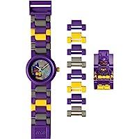 LEGO Batman 8020844 Orologio da polso componibile per bambini con minifigure Batgirl