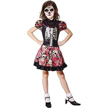 My Other Me costume da giorno dei morti per ragazza (Viving Costumes) 10-12  años 42593b6c88e