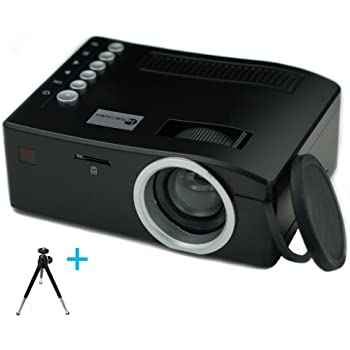 Build Excellent Mini LED Projector Portable Video Projector Pocket Size LCD Projector Home Cinema (UC18)