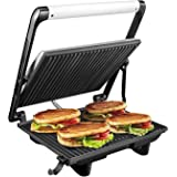 Liznoriz Super Jumbo 2000-Watt Grill Sandwich Maker (Black)