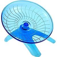 ULTECHNOVO Flying Saucer Hamster Wheel- Hamster Wheel Silent, Exercise Wheel Durable Hamster Toy for Small Animals