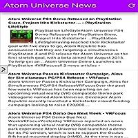 Atom Universe News