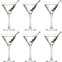 Verre à Cocktail Martini Joya de Libbey - 260 ml / 26 cl - 6 Pièces - Vont au lave-vaisselle - Parfait pour un cocktail…