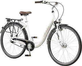 viking 28 Zoll Prelude mit Federgabel Citybike Stadt Fahrrad 7 Gang Nexus