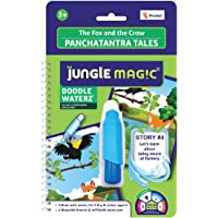 Jungle Magic Doodle Waterz Panchatantra Tales- The Fox and The Crow (Reusable Water-Reveal Colouring Book with Water Pen…