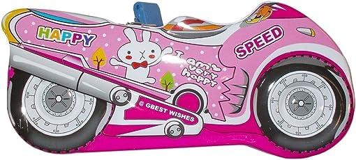 Aptitude Bike Shape Piggy Bank with Lock and Key Colour May Vary