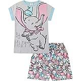 Disney Dumbo Be Happy - Pijama corto de algodón para mujer