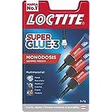 Loctite Super Glue-3 Original Mini Trio, pegamento universal con triple resistencia, adhesivo transparente, pegamento instant