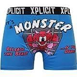 Novelty Mens Boxer Shorts Cartoon Character Superhero Underwear