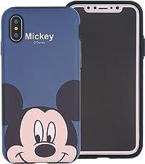 New Disney MINNIE CARTOONS trasparente Cartoons character and others trasparente in poliuretano termoplastico per iPhone-Cover per Apple iPhone 7, 8, 7PLUS & 8PLUS plastica, (iphone X, MICKEY 1)
