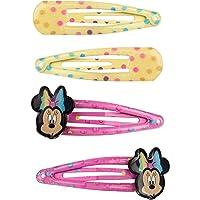 SIX Set di 4 fermagli per capelli Minnie Mouse Disney (304-826)