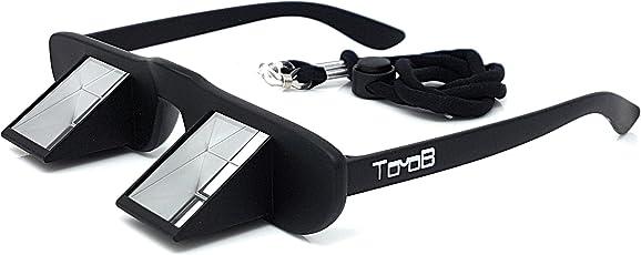 TooB Sicherungsbrille - DIE bezahlbare Kletterbrille mit praktischem Brillenband und extra großem Sichtfenster - für Brillenträger geeignet - inklusive Brillenetui mit Karabiner zum Befestigen am Klettergurt