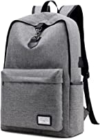 Laptop Backpack,TOYIS Slim Anti-theft Water Resistant Travel Laptop Backpacks For Men Women With USB Charging Port...