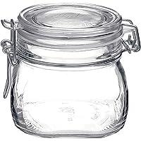 Vase Pot Terrine en verre pour conserve aussi pour servir de 500 ml Modèle de bormioli rocco fido fermeture hermétique…