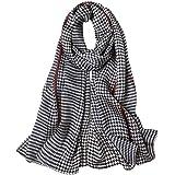 STORY OF SHANGHAI sciarpa di seta da donna 100% seta, 20+ sciarpe colorate, calde e morbide, come una sciarpa di seta stola s