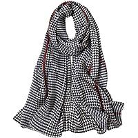 STORY OF SHANGHAI sciarpa di seta da donna 100% seta, 20+ sciarpe colorate, calde e morbide, come una sciarpa di seta…