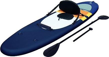 Bestway Coast Liner aufblasbares Stand Up Paddle Board (iSUP) und Kajak, Komplett-Set, mit Doppel-Paddel (221 cm), Hochdruck-Pumpe und Zubehör, 320 x 81 x 12 cm, bis 120 kg