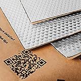 Noico 2 mm 0,95 m² zelfklevende anti-rammel trillingsdempende mat, auto akoestisch isolatie (lawaaireductie en geluiddemping