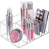 mDesign organiseur maquillage – boîte de rangement maquillage avec cinq compartiments pour produits de maquillage, vernis à o