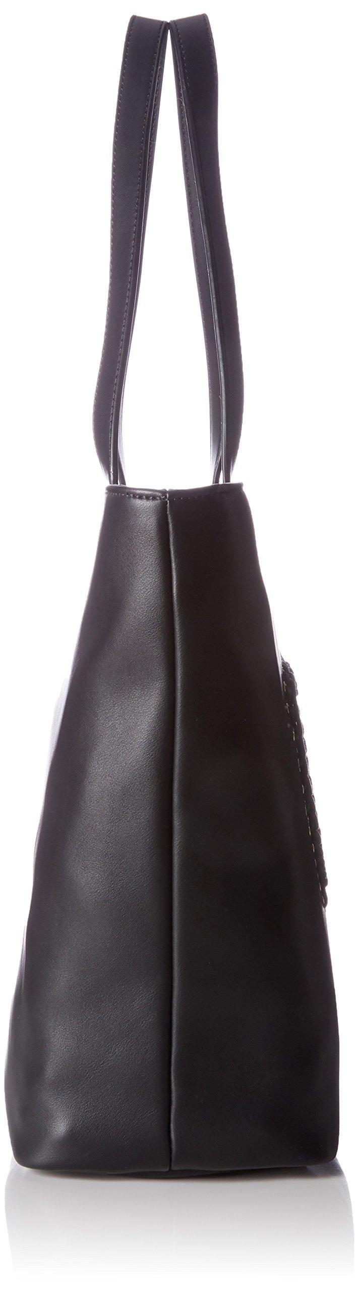 Love Moschino – Borsa Calf Pu Nero, Bolsos totes Mujer, Schwarz (Black), 31x45x12 cm (W x H D)