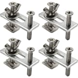 Genmitsu 4 st T-Track Mini Hold Down Clamp Kit, Kompatibel med 3018-PRO/3018-MX3/3018-PROVer CNC Router Machine