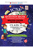 Oswaal ICSE Question Bank Class 10 Commercial Studies Chapterwise & Topicwise (For March 2020 Exam) Old Book