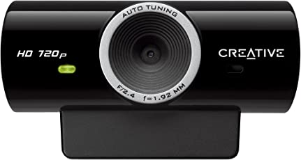 Creative Labs Creative 73VF077000000 Live!Cam Sync HD 720p 1280x720 USB2.0 Webcam