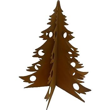 Rostiger Tannenbaum.Metalltechnik Dermbach Gmbh Weihnachtsbaum Edelrost 0 63 M Aus
