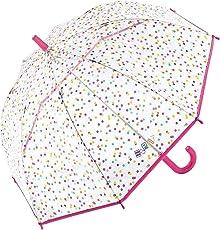 ESPRIT Domeshape Kids Colored Dots Kindergarten Stockschirm Kinderschirm Regenschirm 50821