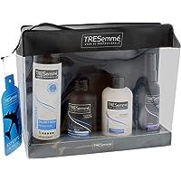 Tresemmé - Kit da viaggio Experts On The Go con borsa per il lavaggio, shampoo, balsamo, spray per la protezione dal…
