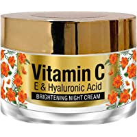 StBotanica Vitamin C, E & Hyaluronic Acid Brightening Night Cream, 50g