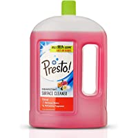 Amazon Brand - Presto! Disinfectant Surface/Floor Cleaner - 2 L (Floral)