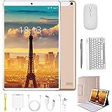Tablet 10.1 Pulgadas 4G Android 9.0 Quad Core DUODUOGO Tablet Baratas 4GB RAM 64GB ROM/128GB Escalables 8000mAh Doble SIM/Cám