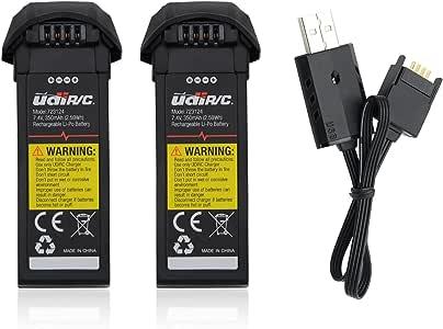 Potensic U31 U34 U36 Batterie-2pcs(Non adatte al drone U29)