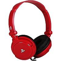 PRO4-10 Officially Licensed Stereo Gaming Headset - Red (PS4/PSVita) [Edizione: Regno Unito]