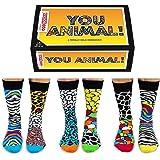 Boîte de 6 Chaussettes dépareillées - Homme Chaussettes - Vous Animal