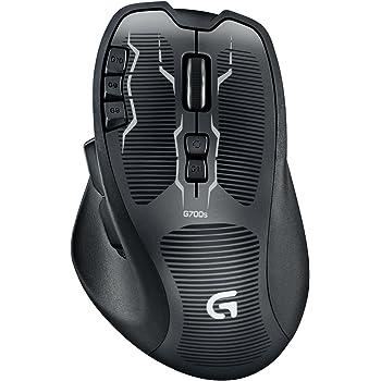 Logitech G700s RF Wireless Laser 8200DPI Nero mouse